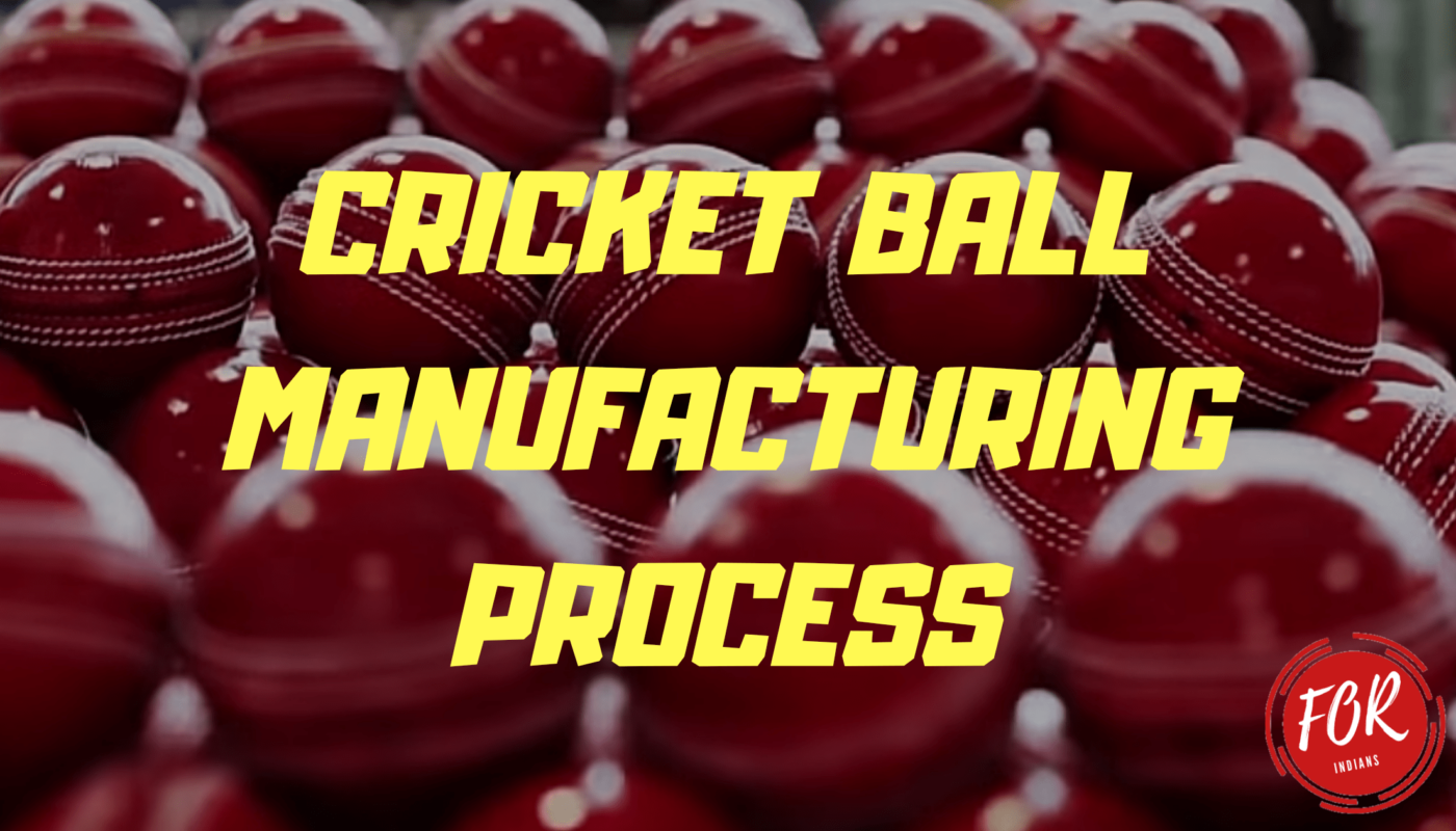 cricket ball manufacturing