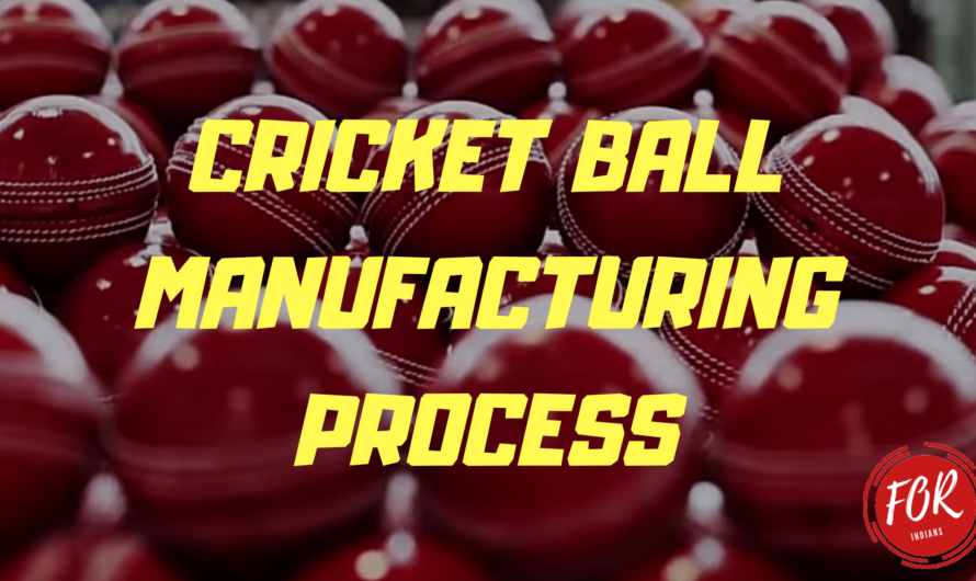 cricket ball manufacturing step by step process