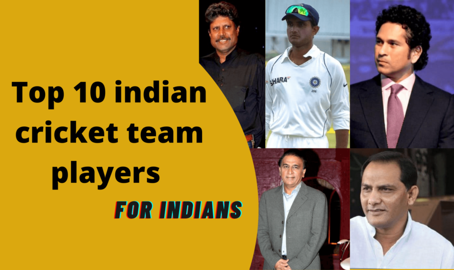 Top 10 indian cricket team players batsman