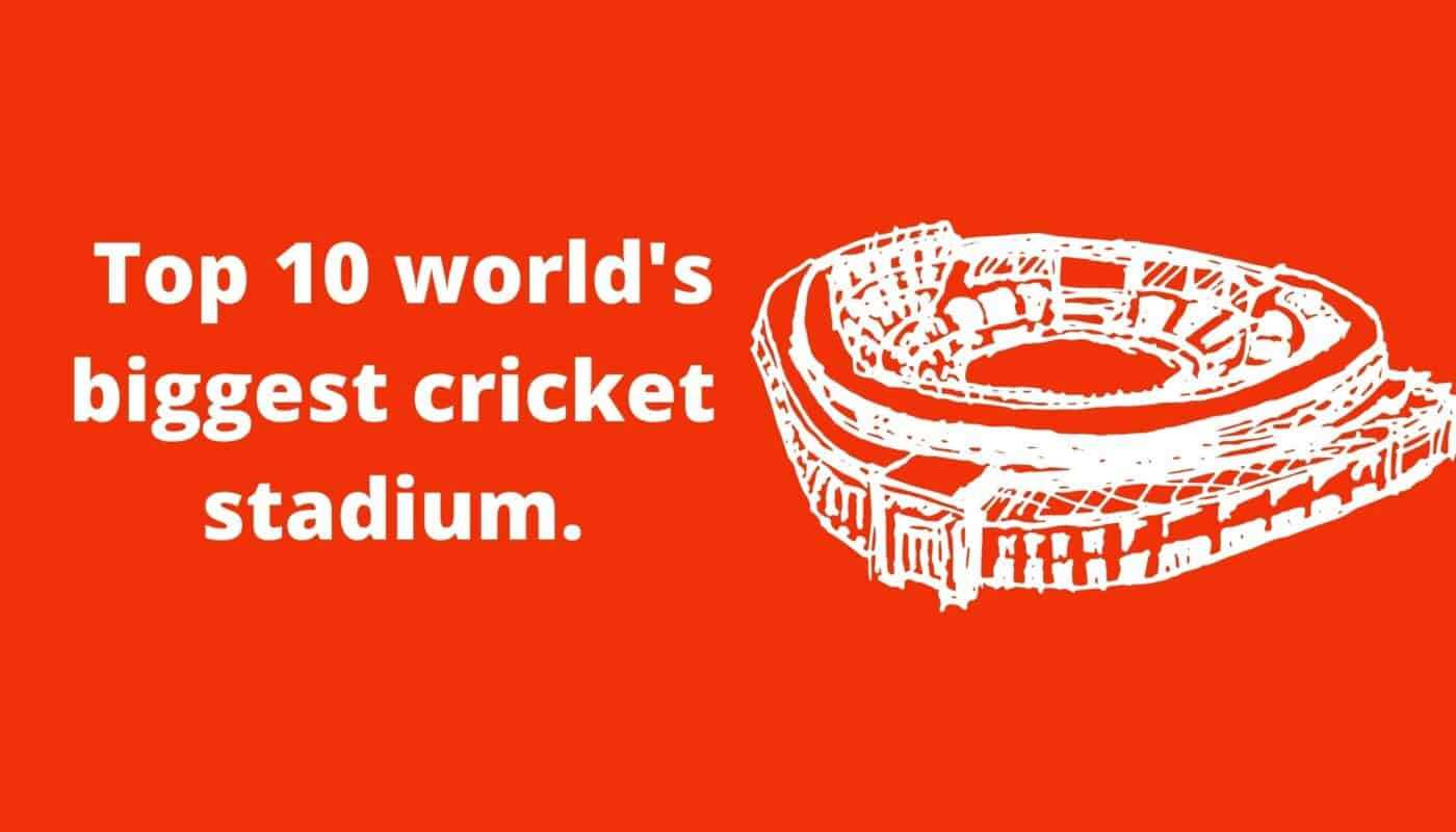 world biggest cricket stadium