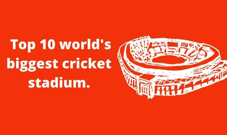 top 10 world biggest cricket stadium